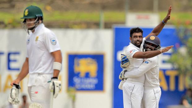 South Africa dismissal vs Sri Lanka