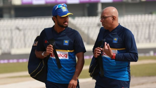 Chandika Hathurusingha and Dinesh Chandimal
