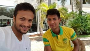 Shakib and Mustafiz