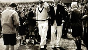 Sir Don Bradman and Norman Yardley
