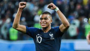 France v Croatia mbappe