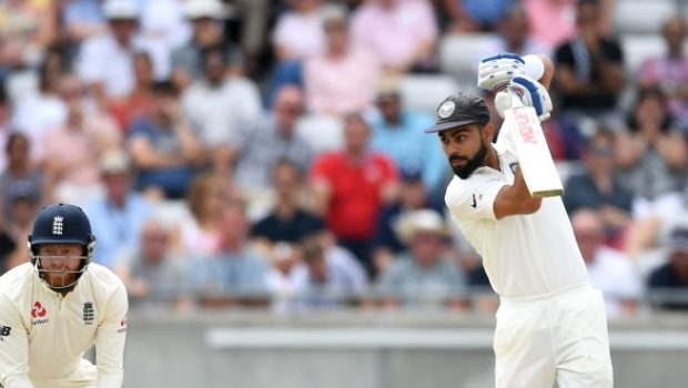Virat Kohli of India bats during day two of the Specsavers