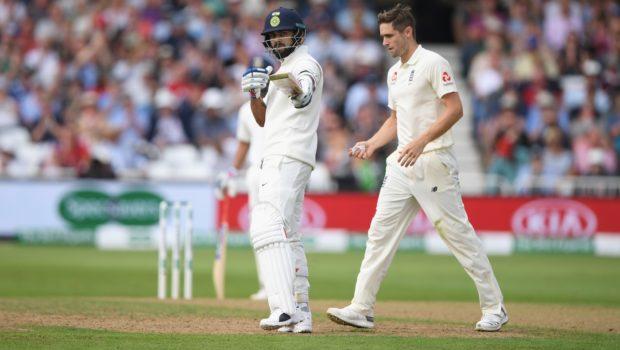 India batsman Virat Kohli reaches his half century