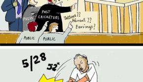 Pandya cartoon