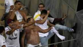 A predictably chaotic end to Santos' Copa Libertadores elimination