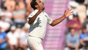 India's Ravichandran Ashwin celebrates after taking the wicket of England's Ben Stokes