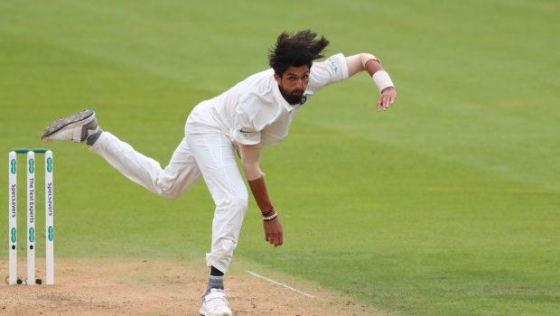 Ishant Sharma of India bowling