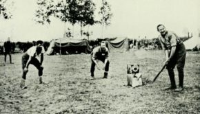 cricket during war
