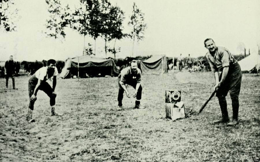 cricket during war