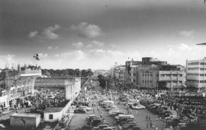 A view of Dhaka Stadium in the 1960s. Image Courtesy: Old Photo Archives