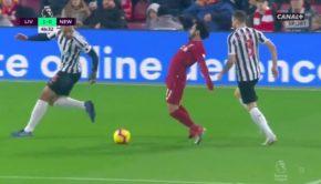 Mohamed Salah diving
