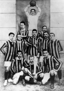 The Inter Squad in 1910. Image Courtesy: Wikipedia