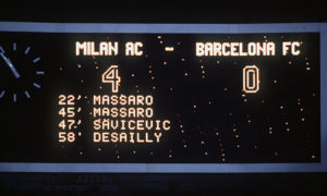 The final scoreline at Athens. Image Courtesy: TBT