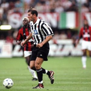 Zinedine Zidane in action while playing for Juventus. Image Courtesy: FIFA