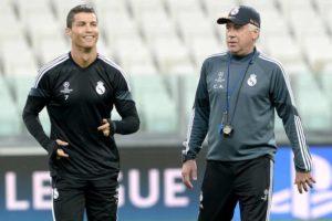Cristiano Ronaldo and Carlo Ancelotti. Image Courtesy: Bleacher Report