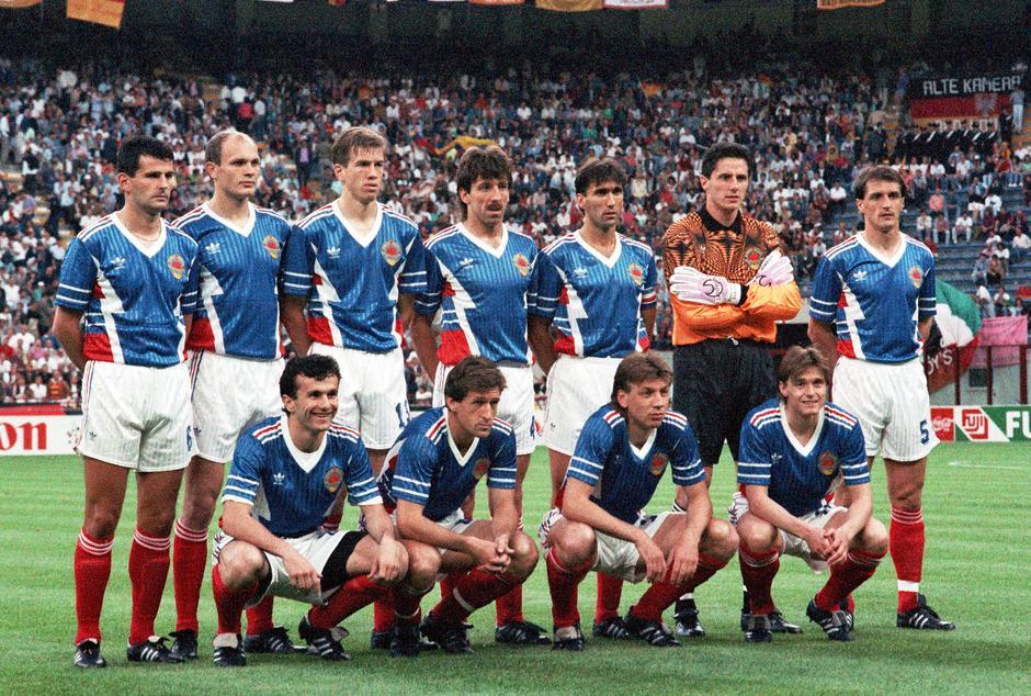 Yugoslavia National Football Team Teams Background 3