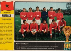 The poster of Moroccan Football Team for Mexico 70. Image Courtesy: Pinterest