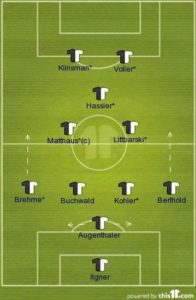 The formation of Germany 1990