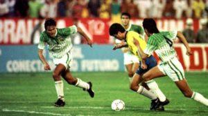 Bebeto in action. Image Courtesy: Los Tiempos