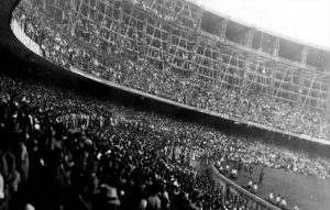 A stunned Maracana after the fina. Image Courtesy: Pinterest