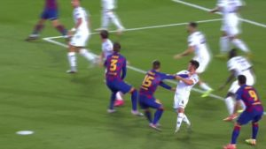 The goal should have been disallowed. Image Courtesy: Marca