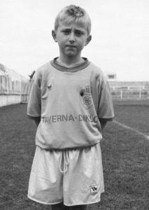 A young Luka Modric. Image Courtesy: Goal
