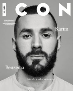 Karim Benzema in the cover photo of El Pais. Image Courtesy: AS