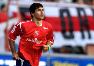 Sergio Aguero during his days in Independiente. Image Courtesy: TFT