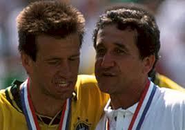 Carlos Dunga and Carlos Alberto Parreira. Image Courtesy: World Cup Saga