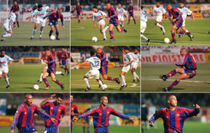 The immortal goal of Ronaldo O Fenomeno. Image Courtesy: MARCA