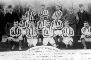 Newcastle United Football Club team group, 1893-1894 season. Image Courtesy: Chroniclelive